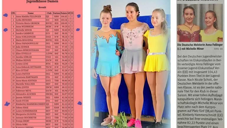 Anna Fellinger gewinnt DM Jugendklasse